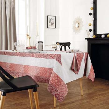 Набор салфеток Tradilinge Mosaïc Rubis (бордо), 100% хлопок, 45х45 см, 3 шт.