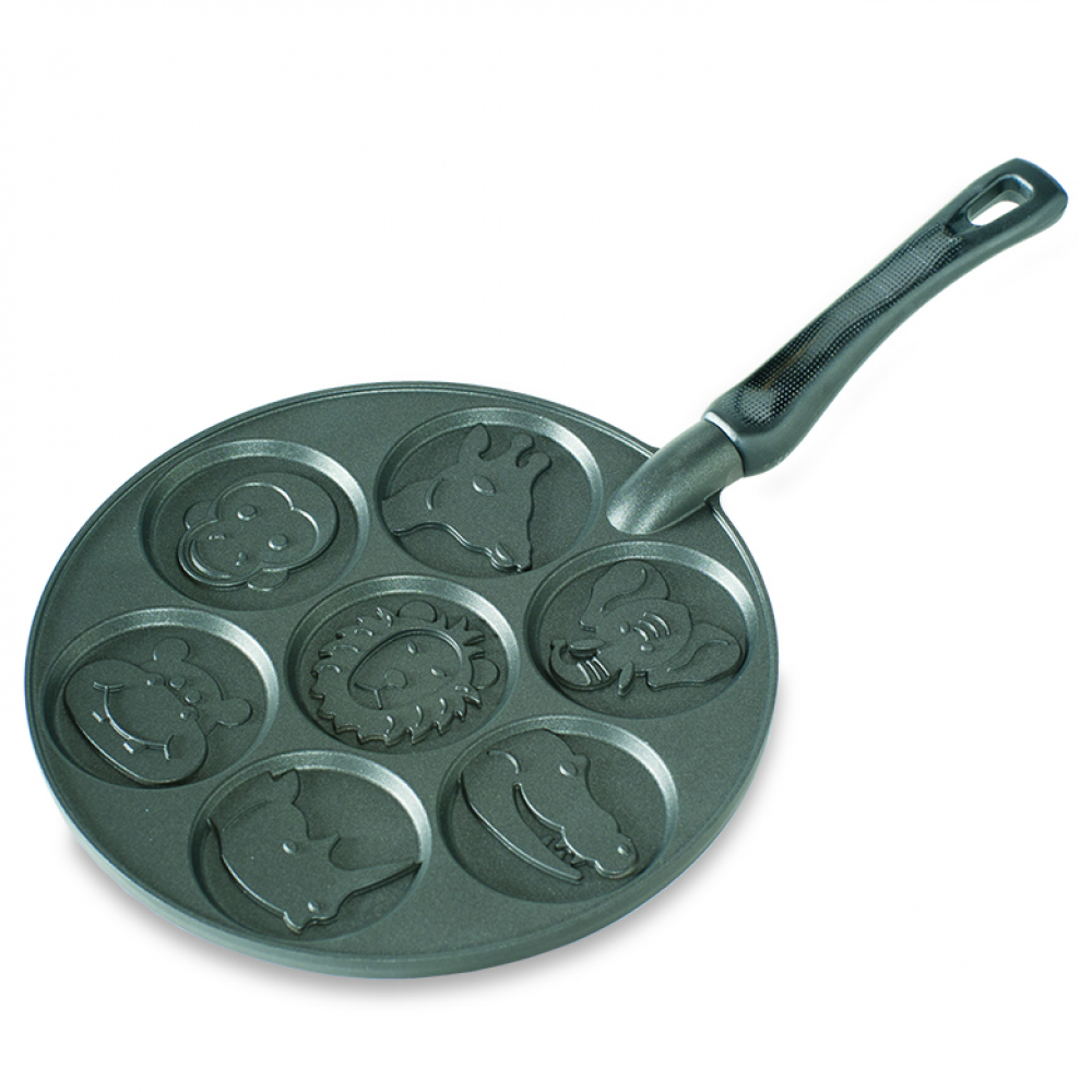 Сковорода Nordic Ware для блинов zoo friends, d 26,6 см