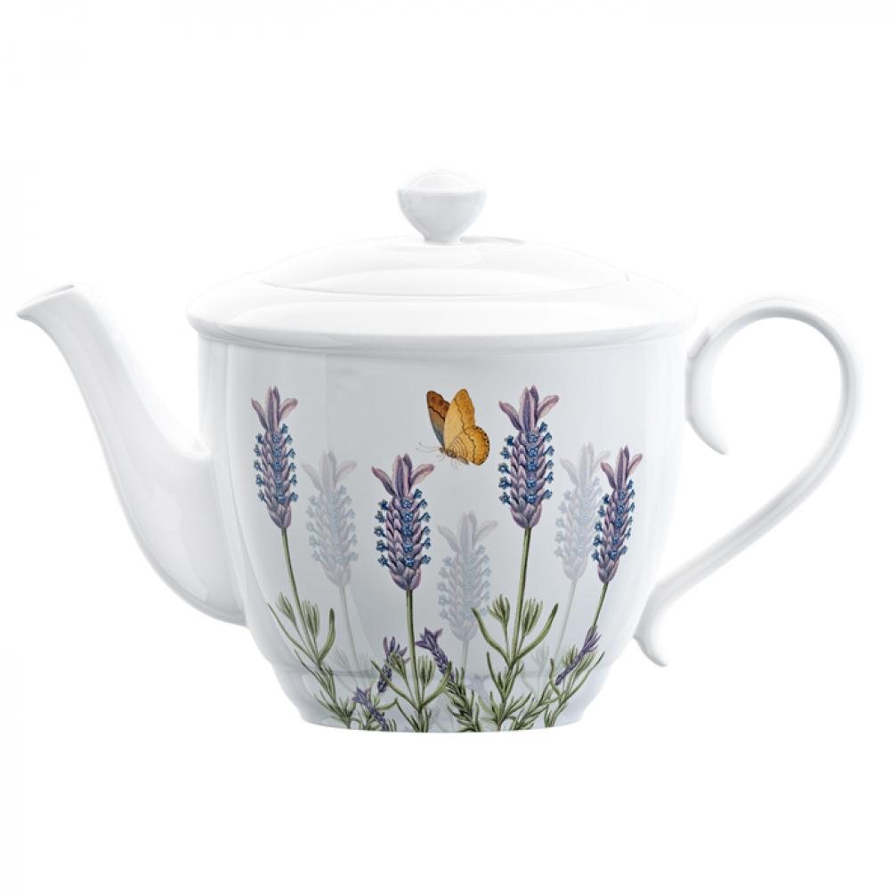 Чайник заварочный CreativeTops LAVENDER, фарфор, 1350 мл