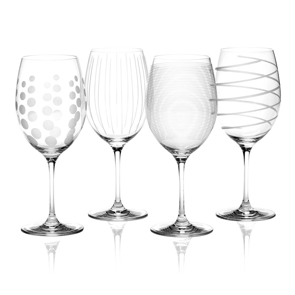 Набор бокалов для красного вина Mikasa CHEERS, стекло, 450 мл, 4 пр.