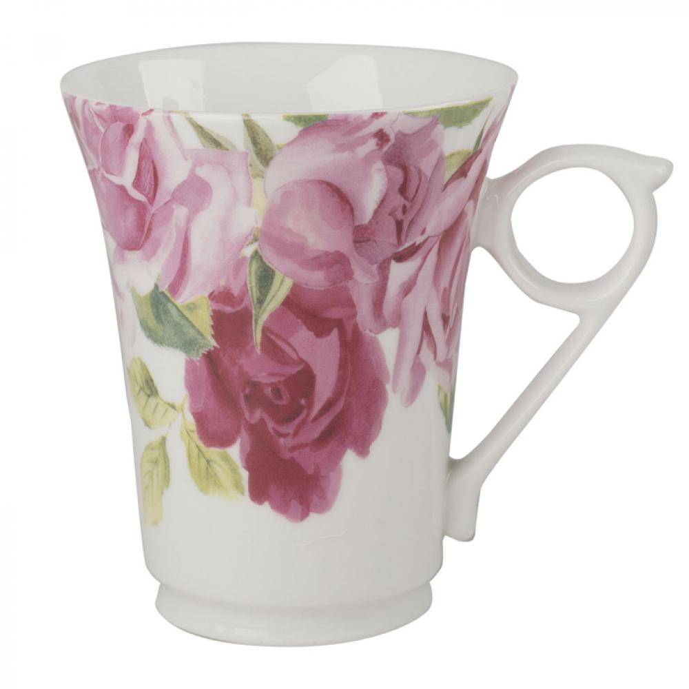 Кружка для чая CreativeTops SOUTHBOURNE ROSE, фарфор, белый, 300 мл