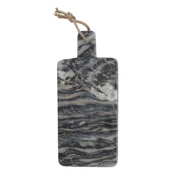 Доска кухонная NATURALS, серый мрамор, 19 х 38 см