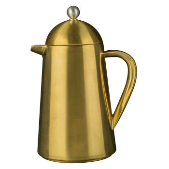 Кофейник с двойными стенками Thermique, золотой, 1000 мл