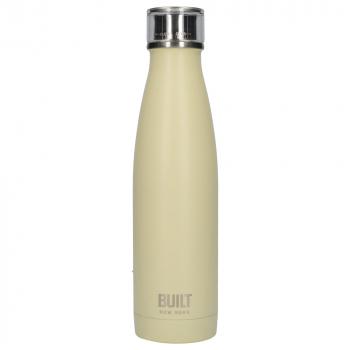 Бутылка металлическая Built Vanilla, с двойными стенками, 500 мл