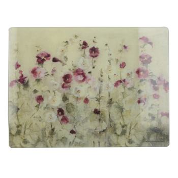 Доска стеклянная Wild Field Poppies, 40 x 30 см
