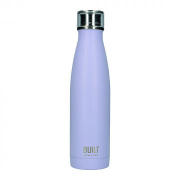 Бутылка металлическая Built Lavender, с двойными стенками, 500 мл