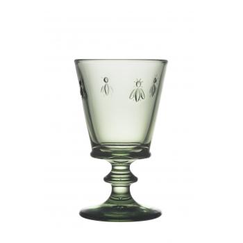 Бокал для вина La Rochere Abeille, зеленый, Н 14 см, 240 мл