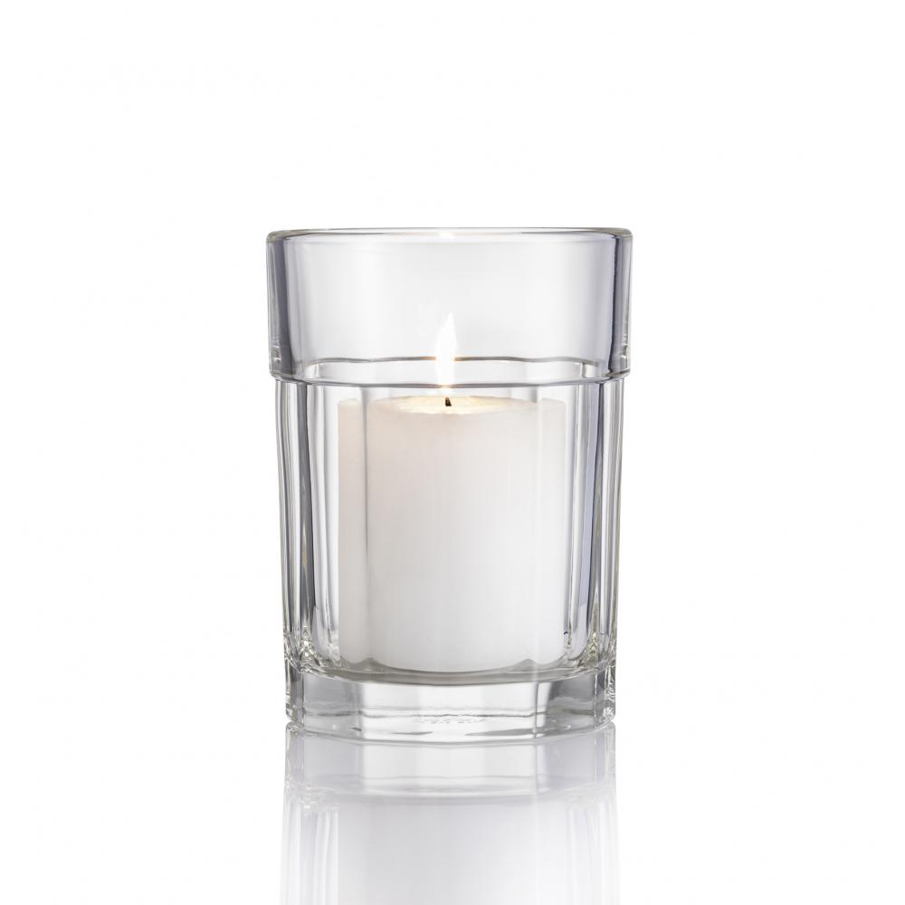 Ваза (подсвечник) La Rochere Perigord, 1л, Н 15,7 см, диам. 11,5 см
