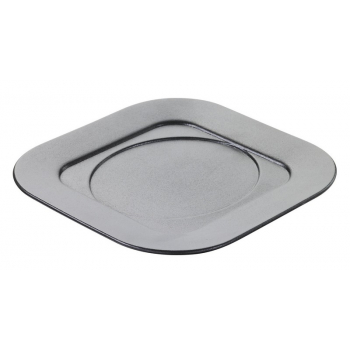 Подставка квадратная под кокотницу Revol, черная, 17 х 175 х 1,5 см