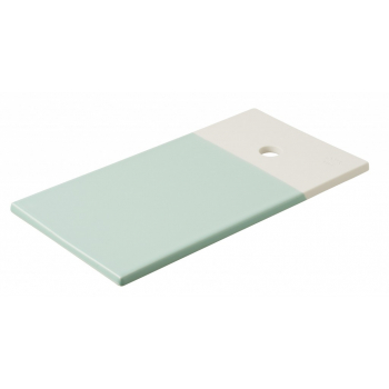 Прямоугольное блюдце для закусок Revol Color Lab, бирюзовое, 24,5 х 13 х 0,8 см