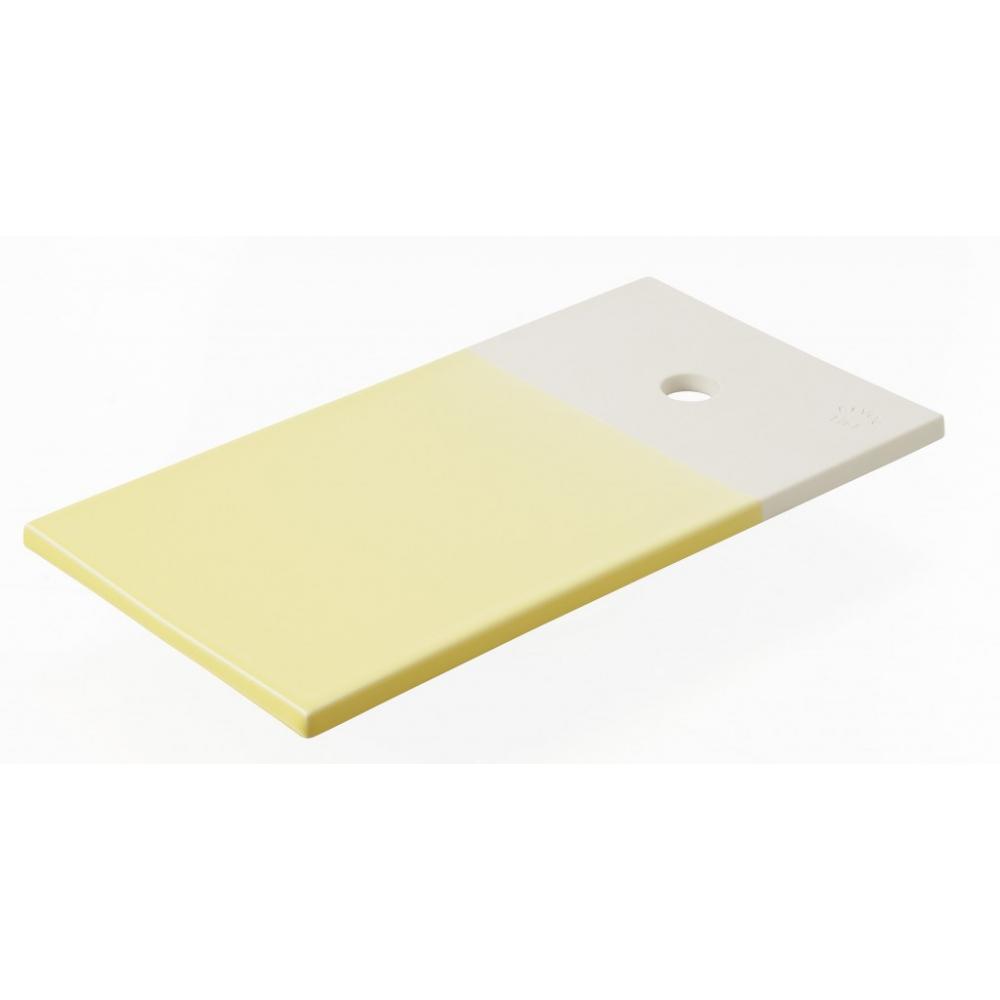 Прямоугольное блюдце для закусок Revol Color Lab, лимонное, 24,5 х 13 х 0,8 см