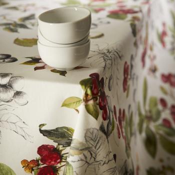 Скатерть Atenas Home Textile Cerezas, хлопок с покрытием
