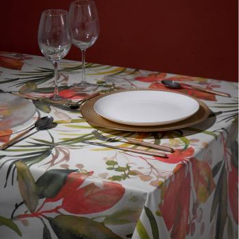 Скатерть Atenas Home Textile Bromelia, хлопок с покрытием