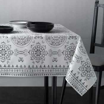 Скатерть Atenas Home Textile Argos Blanco, хлопок с покрытием