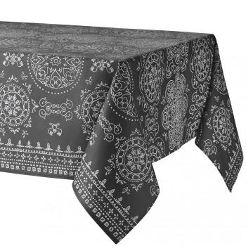 Скатерть Atenas Home Textile Argos Gris, хлопок с покрытием