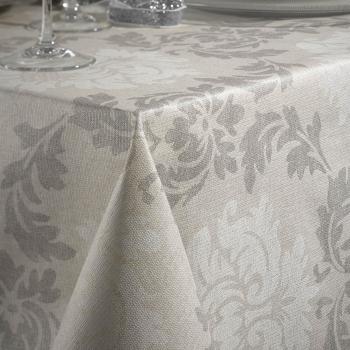 Скатерть Atenas Home Textile Elba Beige, хлопок с покрытием