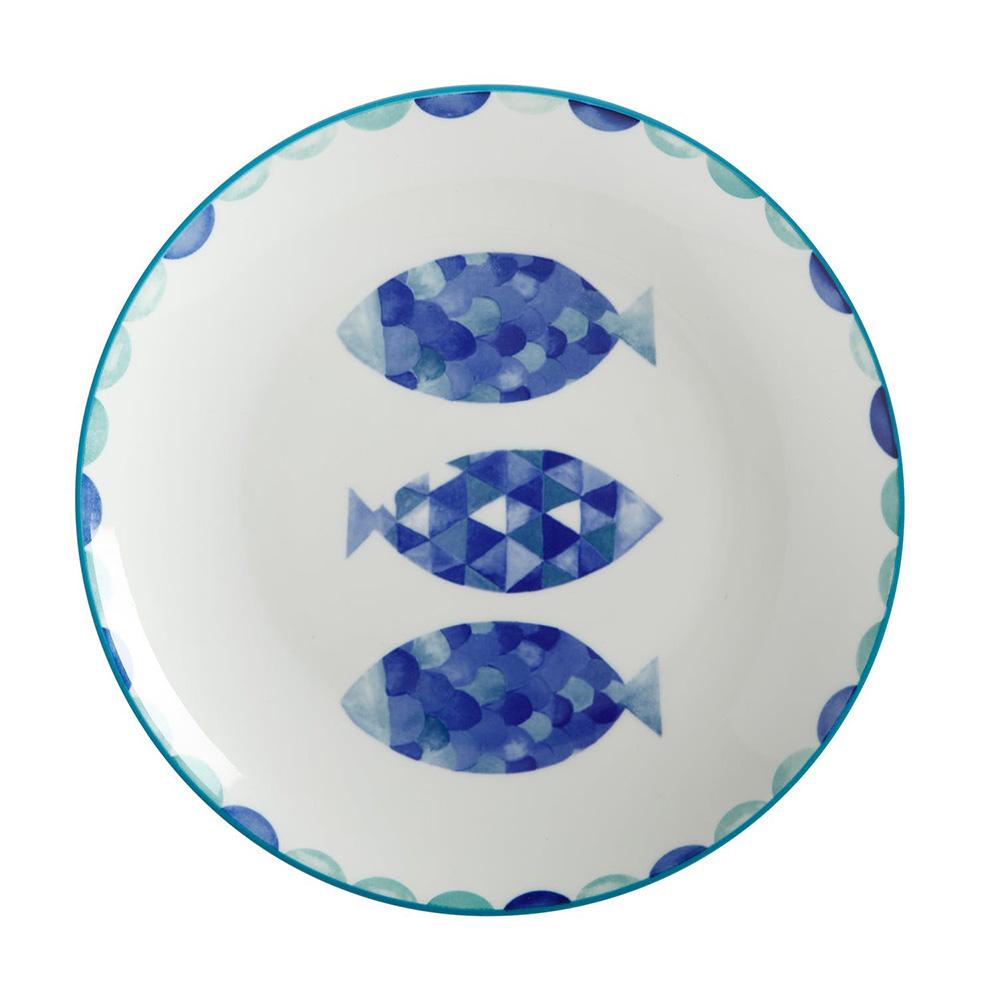 Тарелка обеденная Maxwell Williams REEF FISH, фарфор, диам. 27 см