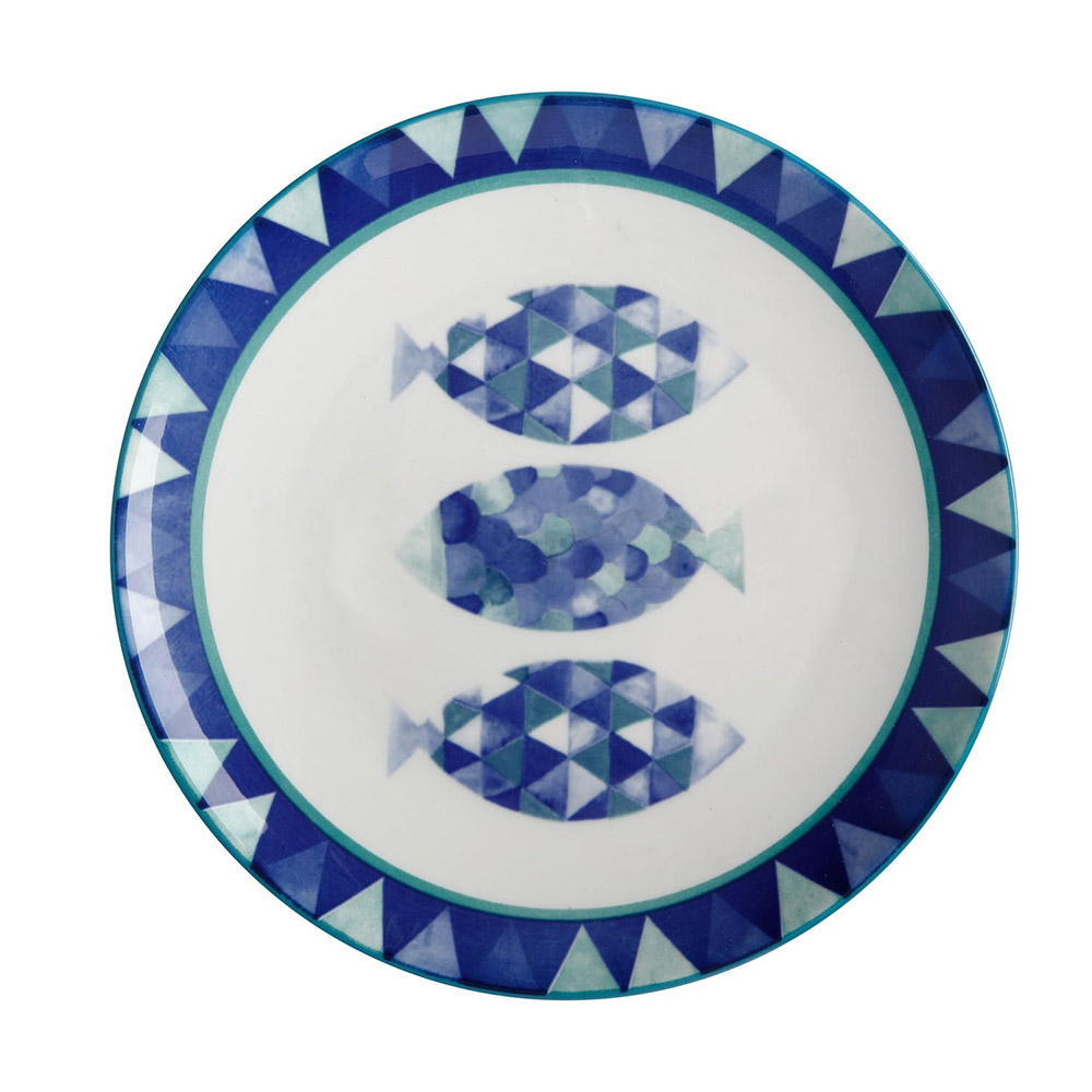 Тарелка десертная Maxwell Williams REEF FISH, фарфор, диам. 20 см
