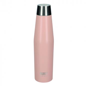 Бутылка металлическая Built Mindful, с двойными стенками, бежевая, 540 мл