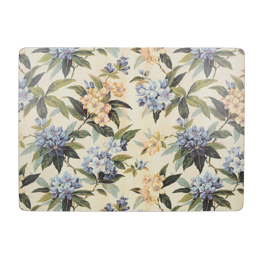 Набор пробковых подставок под тарелки Kitchen Craft Floral, 40 х 29 см, 4 пр.
