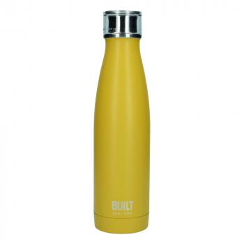 Бутылка металлическая Built Mustard, с двойными стенками, 500 мл