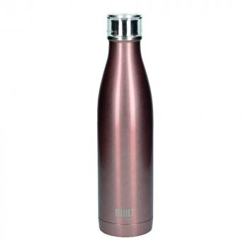 Бутылка металлическая Built, с двойными стенками, золотистый, 740 мл