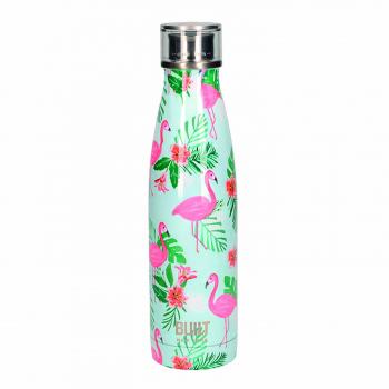 Бутылка металлическая Built Flamingo, с двойными стенками, 500 мл