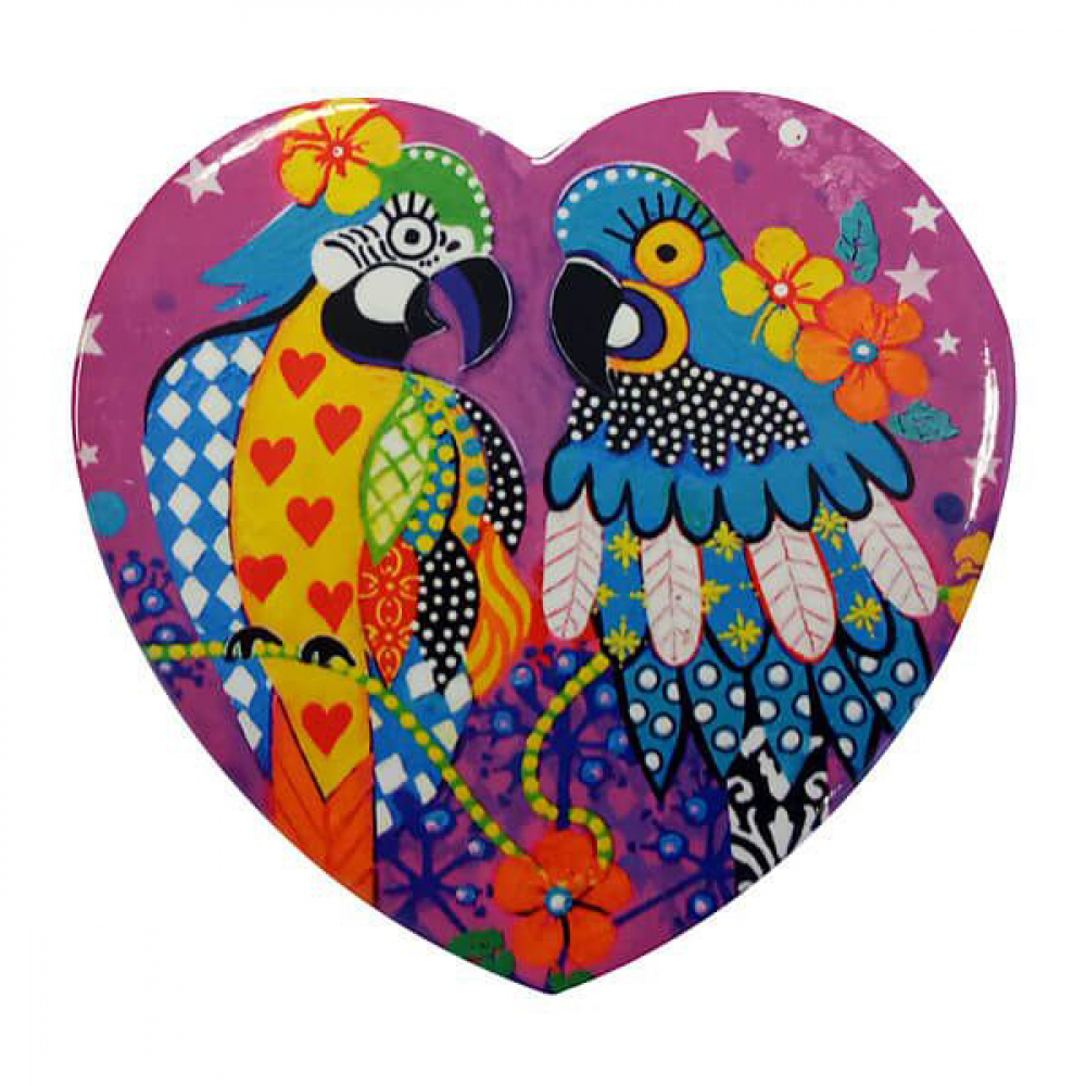 Подставка под чашку Maxwell Williams Araras LOVE HEARTS, керамика, 10 х 9,5 см