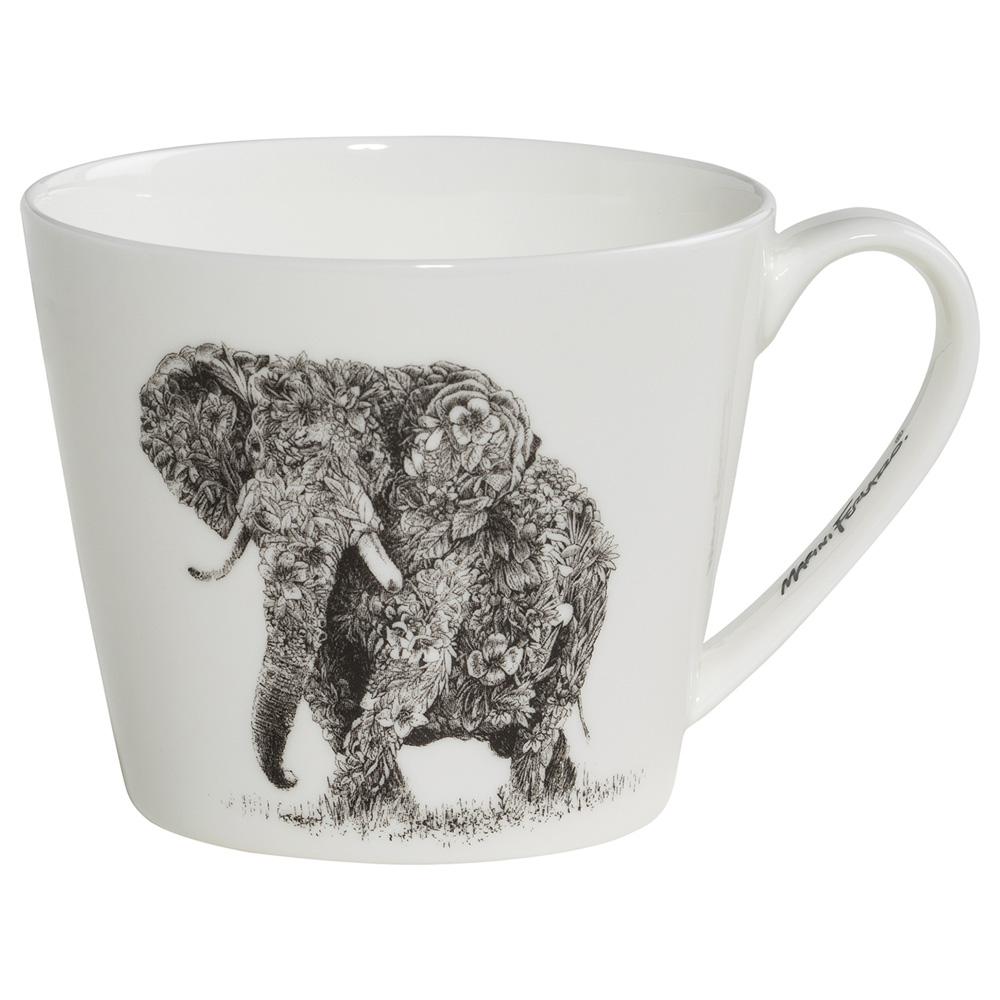 Кружка для чая Maxwell Williams Elephant MARINI FERLAZZO, фарфор, 13 х 10,5 х 8,5 см, 450 мл