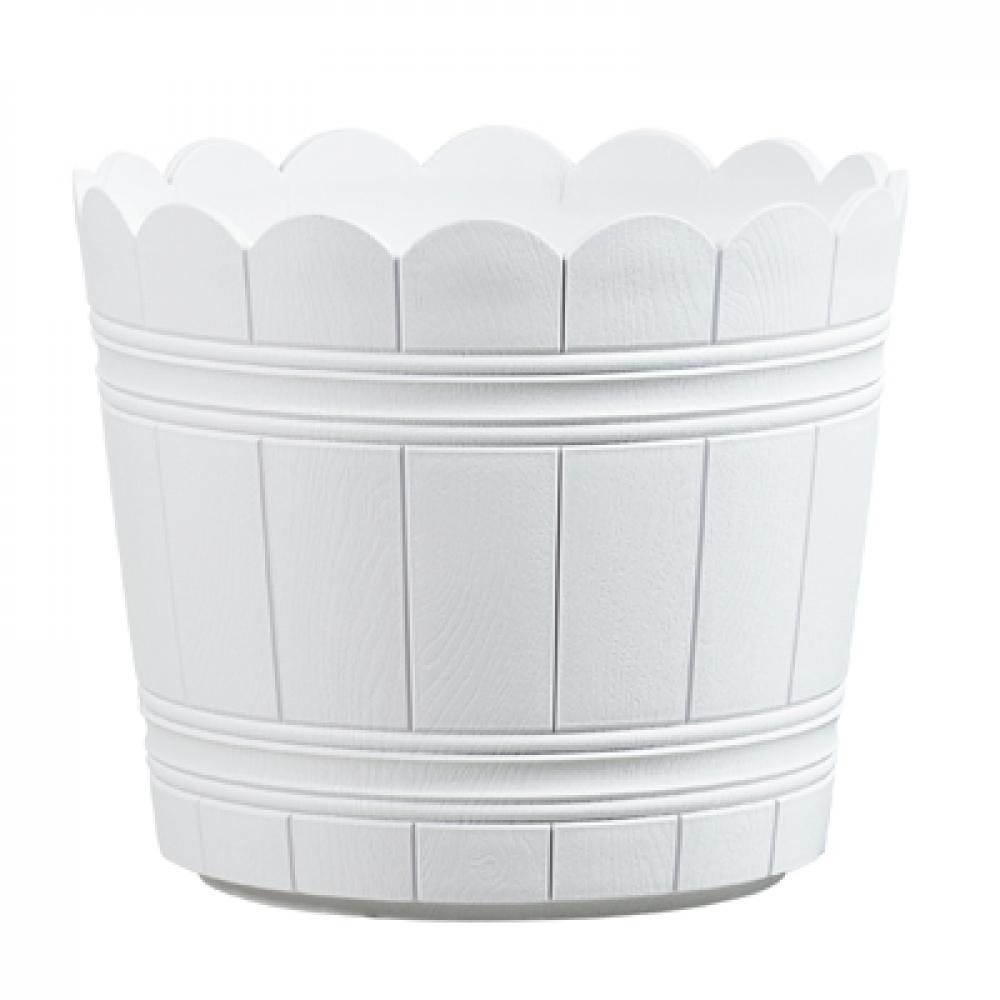 Цветочный горшок Emsa COUNTRY, круглый (белый), 35 х 29 см
