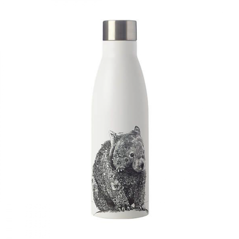 Бутылка металлическая Maxwell Williams Wombat MARINI FERLAZZO, с двойными стенками, 500 мл
