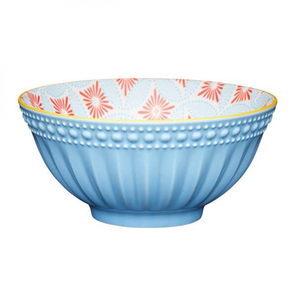 Миска Kitchen Craft BLUE MOSAIC, керамика, диам. 15,7 см, 125 мл