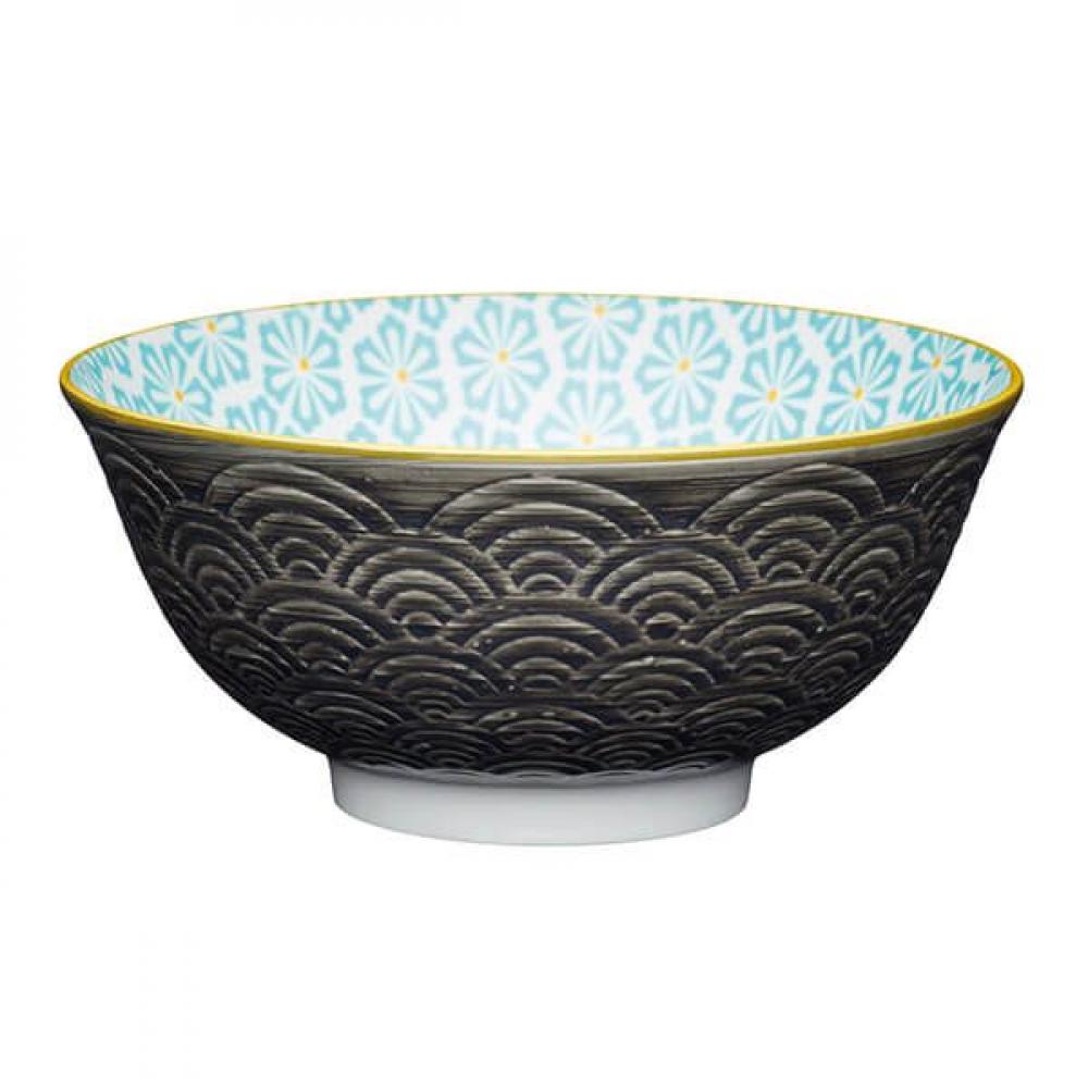 Миска Kitchen Craft GREY ARC, керамика, диам. 15,7 см, 125 мл