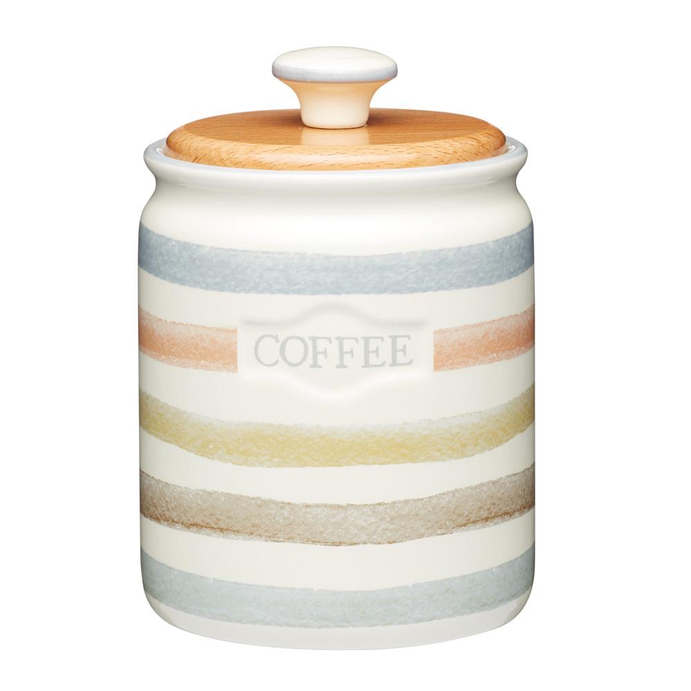 Банка Kitchen Craft для хранения кофе, керамическая, 10,5 х 17 см, 800 мл