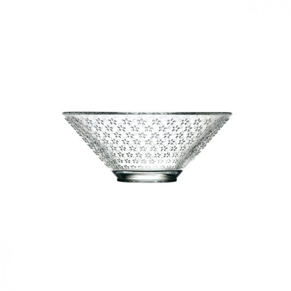 Чаша для салата La Rochere VVV Fleurs, H 7 см, диаметр 18 см, 730 мл