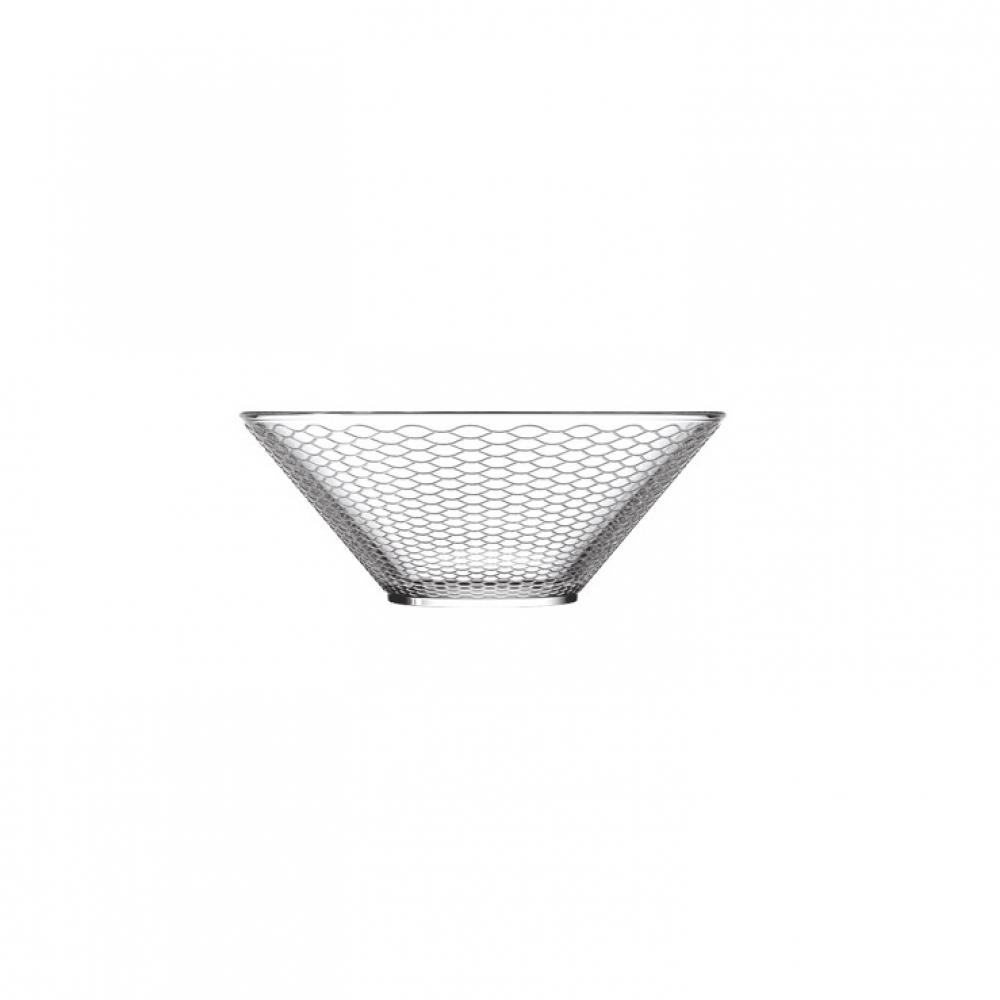 Чаша для салата La Rochere VVV Filet, H 7 см, диаметр 18 см, 730 мл