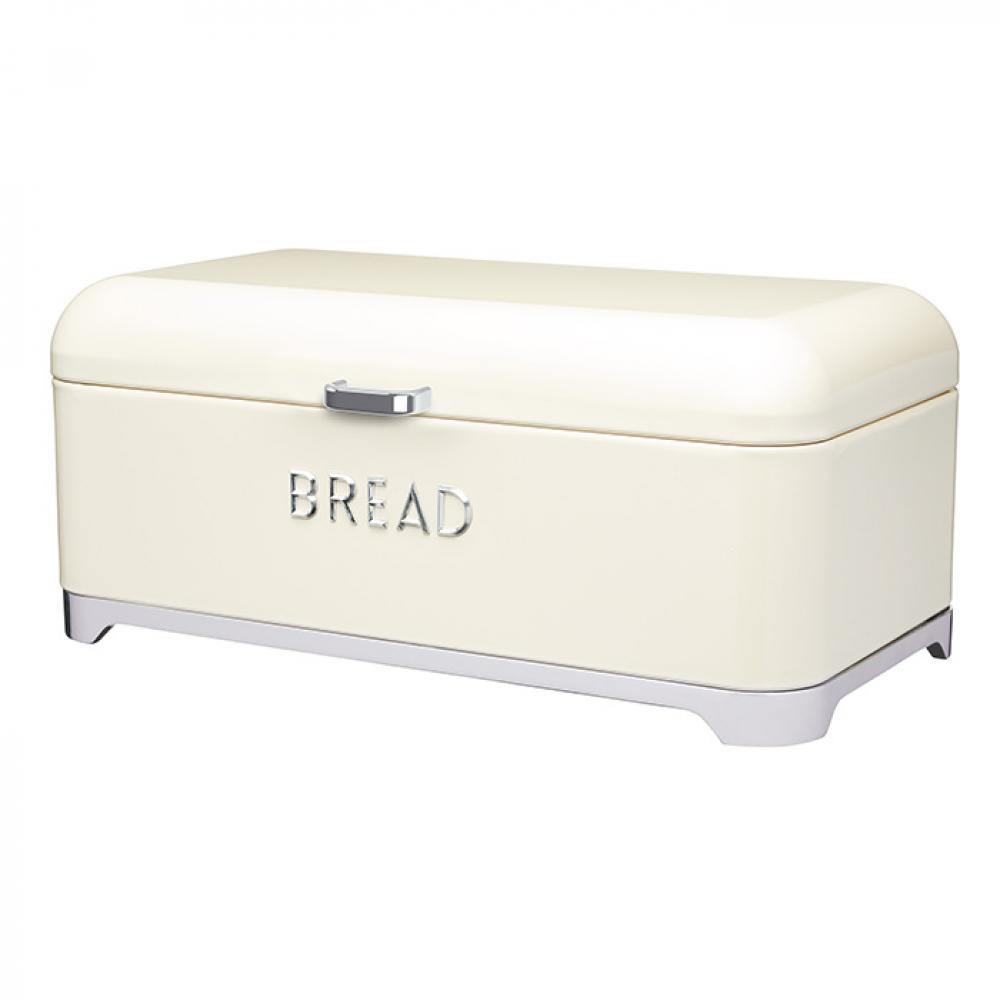 Хлебница Kitchen Craft 34х23,5 см, кремовая