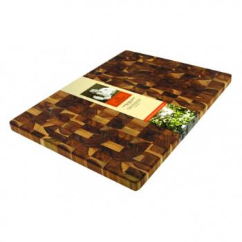 Доска для нарезки Madeira End Grain, тик, 38,1 х 50,8 х 2,54 см
