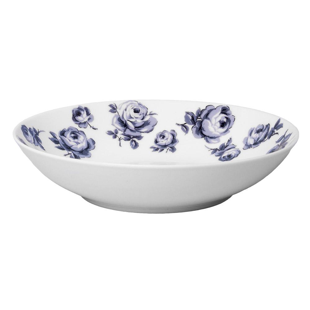 Тарелка для пасты Katie Alice VINTAGE INDIGO, фарфор, диам. 25 см