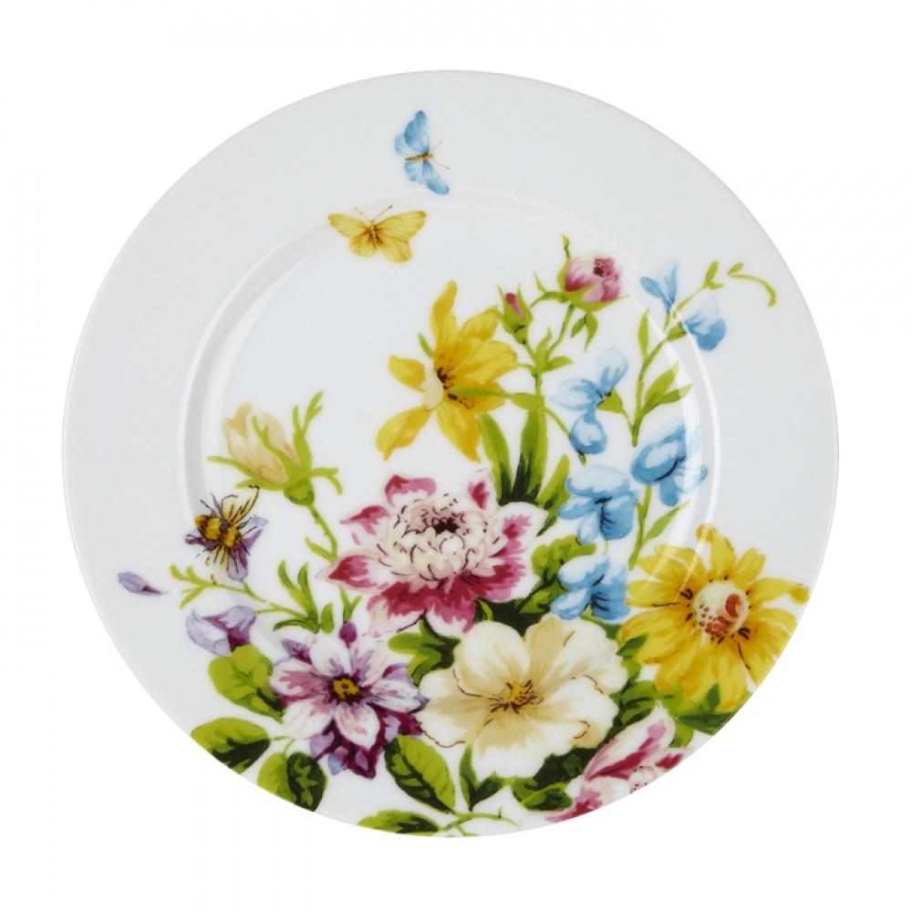 Тарелка десертная Katie Alice ENGLISH GARDEN Floral, фарфор, диам. 19 см