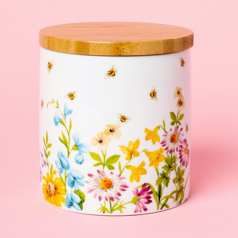 Банка для хранения Katie Alice ENGLISH GARDEN Busy Bee, фарфор, 1000 мл