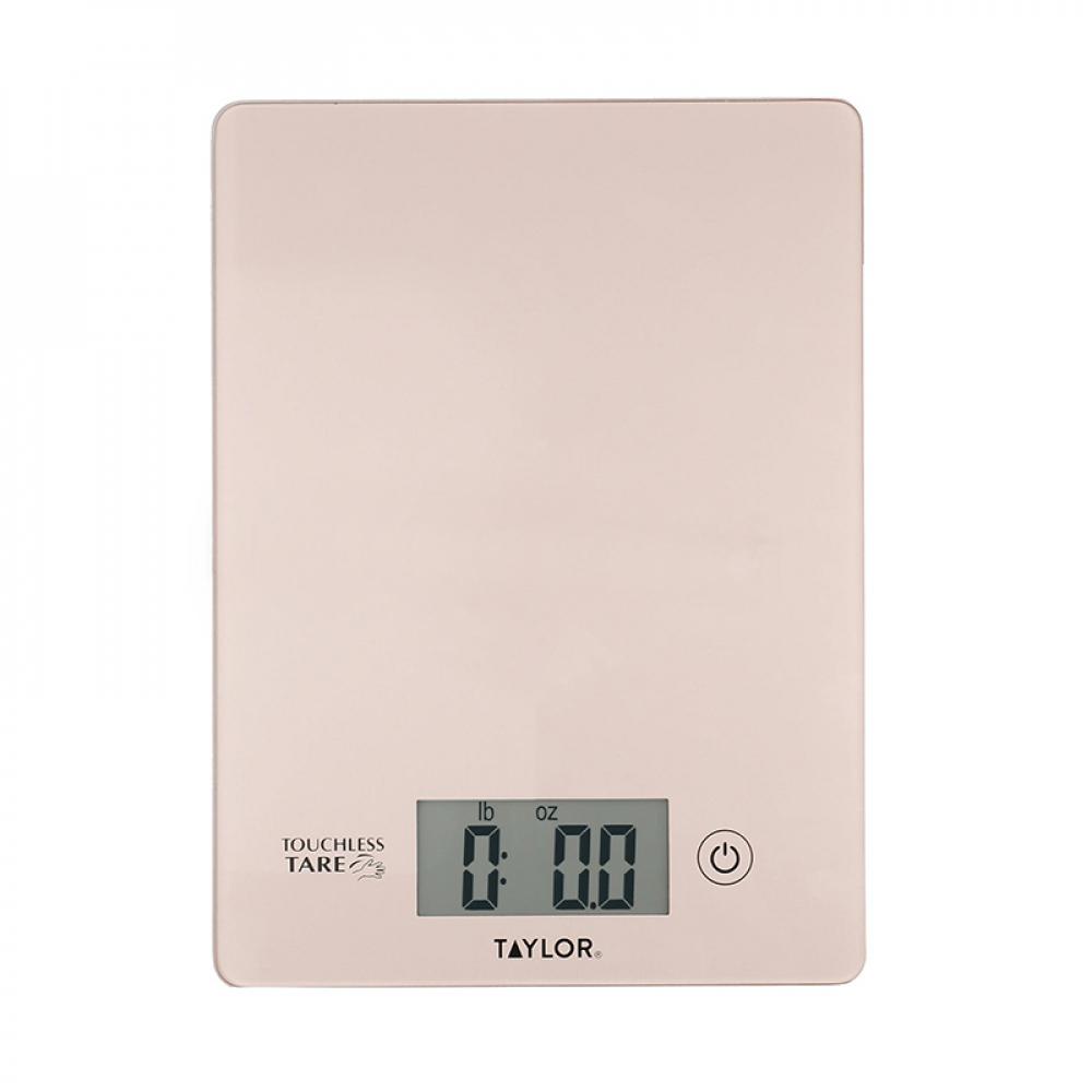 Весы цифровые кухонные Taylor, розовые