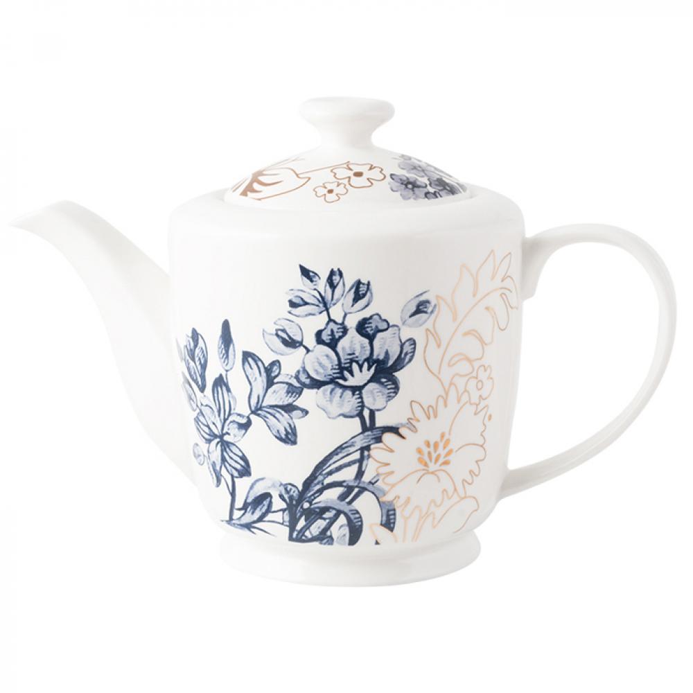 Чайник заварочный CreativeTops Palmers Silk, фарфор, 1000 мл