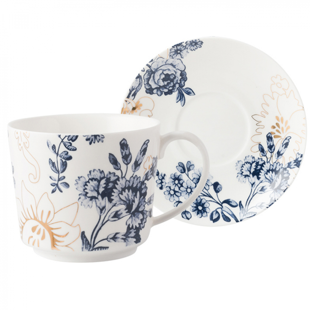 Чашка для чая CreativeTops Palmers Silk, фарфор, 250 мл