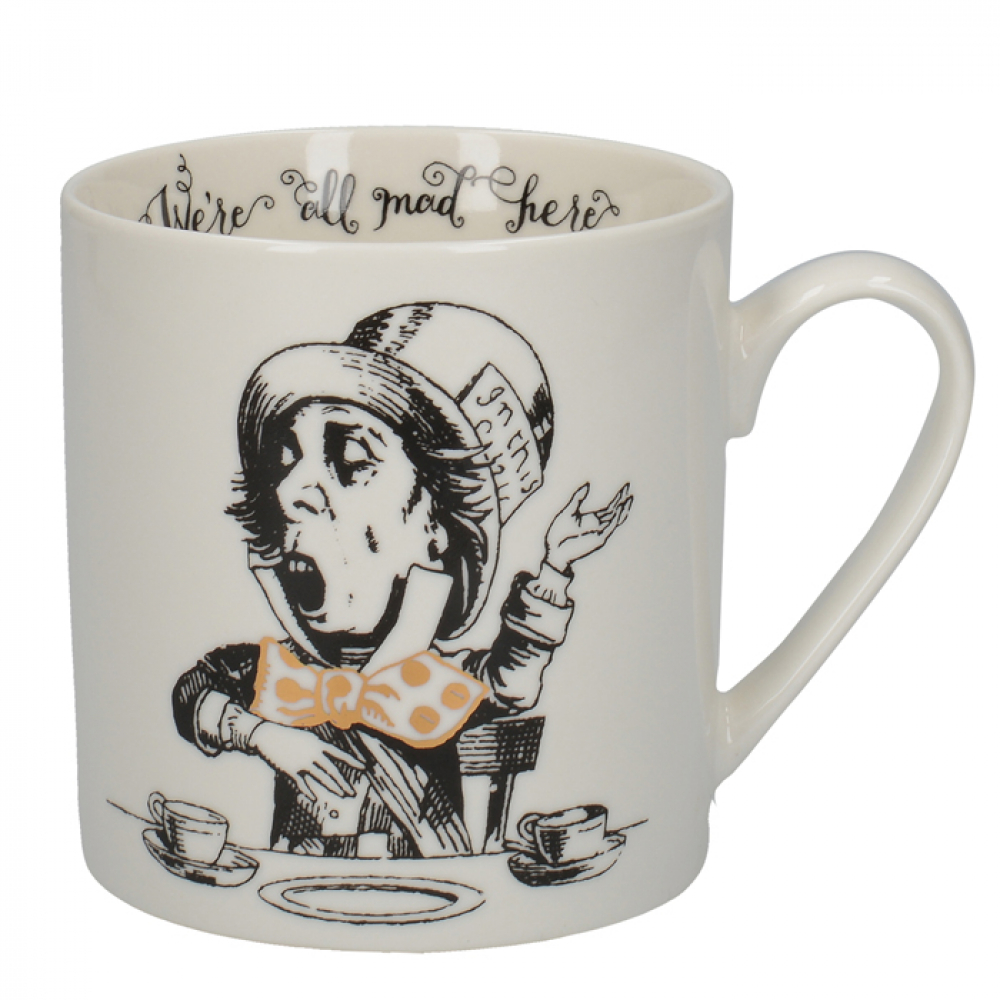 Кружка CreativeTops MAD HATTER Alice in Wonderland, фарфор, 350 мл
